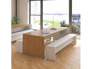 Simply Designed Breakout Tables Available in Many Sizes and Finishes