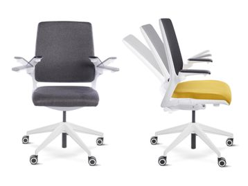 Brand New Mesh Chair with Rotating Armrests