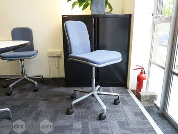Used Hille Supporto Chairs by Fred Scott