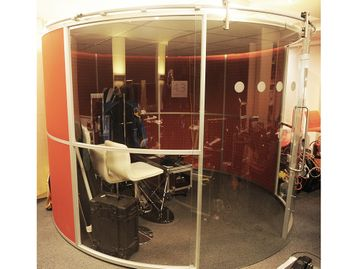 Used Acoustic Meeting Booth Pod With Sliding Doors