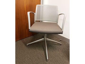 Used Grey Boardroom Meeting Chairs