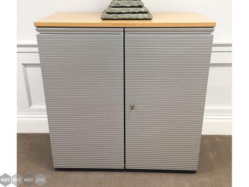 Used Bene Mid Height Double Door Cupboards