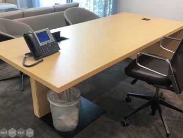 Used 2200mm Bene Executive Desk