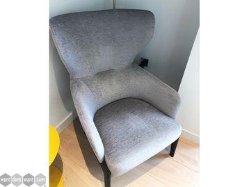 Used High Back Armchair
