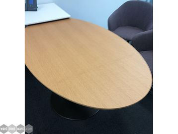 Used 1500mm Oval Table