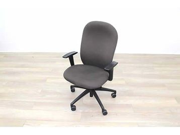 Verco Brown Fabric Operator Office Chairs