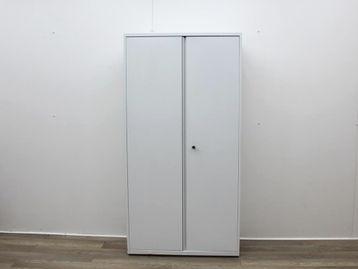 Used White Double Door Storage Cupboard