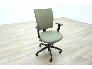 Connection Seating grey fabric Multi-function operator chairs with height adjustable arms.