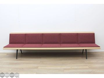 Used Arper Five Person Bench Seat