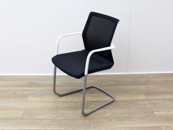 Used Orangebox Black Fabric Boardroom Meeting Chairs