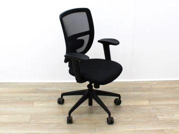 Used Black Mesh Back Operator Chairs