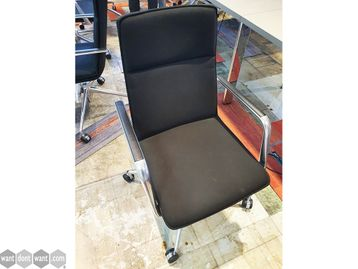 Used Brunner Finasoft Chairs with Arms and Casters