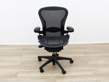 Used Herman Miller Aeron Size B Mesh Operator Chair with Lumbar Support