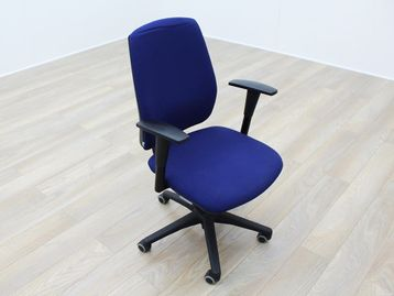 Used Senator Torasen Blue Fabric Office Task Chairs