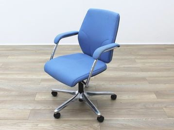 Giroflex G64 Used Blue Fabric Operator Chair