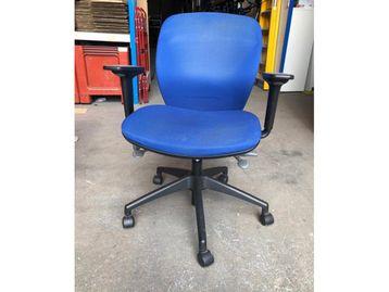 Used Orangebox 'Joy' Operator Chairs in Blue Fabric