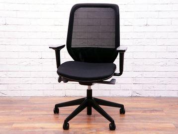 Used Orangebox Joy 12 Mesh Back Operator Chairs with Black Seat