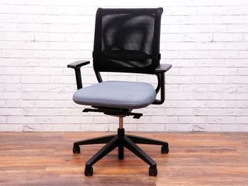 Used Sedus Netwin NW-100 Mesh Back Operator Chairs with Grey Fabric Seat