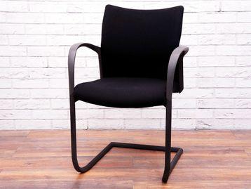 Herman Miller T115A Meeting Chair in Black & Grey