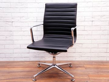 Used ICF 'UNA' Leather Boardroom Chair