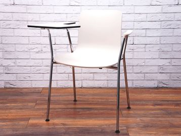 Used Vitra Hal Tube Writing Tablet Meeting Chair