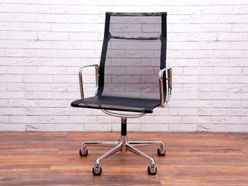 Used ICF High Back Chalres Eames EA 112 Mesh Chairs