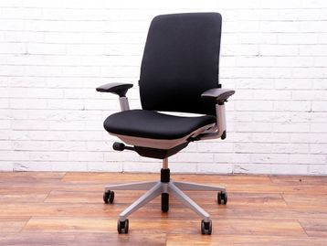 Used Steelcase 'Amia' Office Operator Chairs Available Re-upholstered in Brand New Fabric of Your Choice