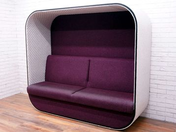 Used Boss Design 'Cocoon' Seating Booth
