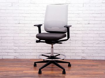 Used Steelcase Reply Draughtsman Chairs with Lumbar Support