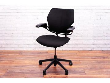 Re-upholstered Humanscale Freedom Office Operator Chairs