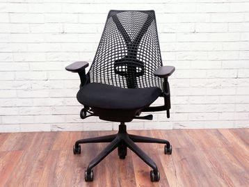 Used Herman Miller Sayl Operator Chair in Black