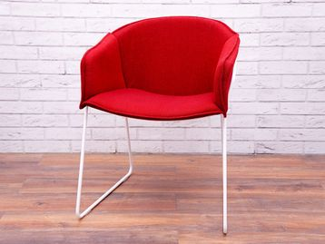 Used Modus 'Hem' Chair in Red Fabric