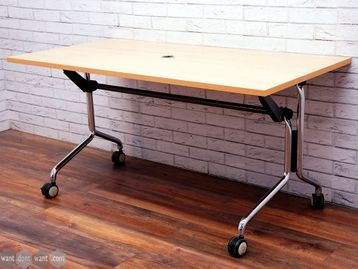 Used 1500mm KI 'Hurry Up!' Flip top folding tables - Choice of Top Finish