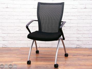 Used Haworth Comforto 99 Meeting Chair on Castors