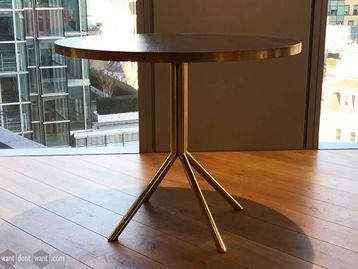 Used OB&B Oak Veneered Circular Table