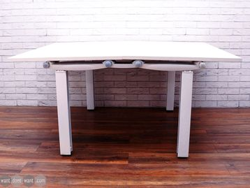 Refurbished Herman Miller 'Abak' bench desks with Square Legs