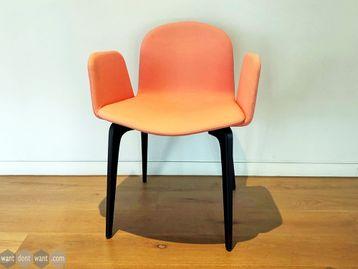 Used Ondarreta Bob XL Chairs in Salmon