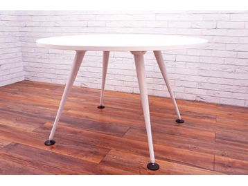 <b>Used Herman Miller</b> used 'Abak' circular meeting tables