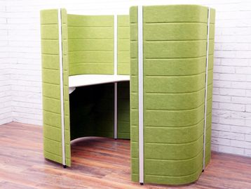 Used Vitra Workbays Focus 1 in Green