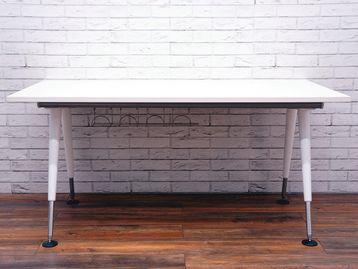 Used Herman Miller 'Abak' office desks with brand new tops