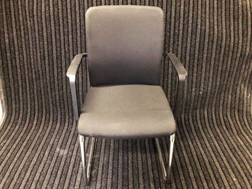 Used Steelcase Upholstered Cantilever Meeting Chairs