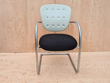 Used Emmegi Upholstered Cantilever Meeting Chairs