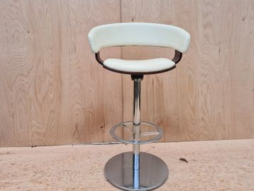 Used Allermuir 'Mollie' Swivel Stools in Leather