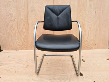 Used Moon Cantilever Meeting Chairs
