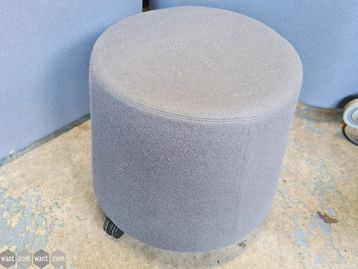 Used Orangebox Sully-01 Stool in Dark Grey with Casters