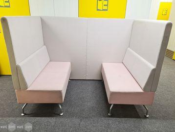 Used Orangebox Perimeter 4 Person Booth