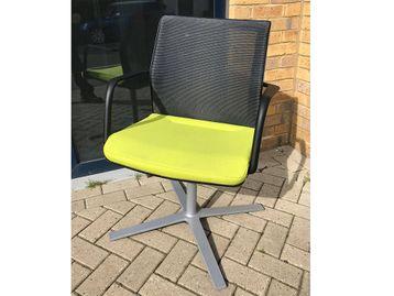 Used Orangebox Workday Mesh Back Meeting Chairs