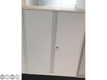 Used White Triumph Cupboard - 2 Choices of Internal Fittings