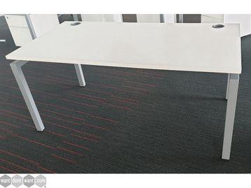 Used 1600mm White Desks