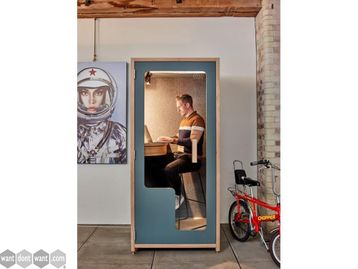 Brand New Acoustic Single Phone Booth Pod with Customisable Finish